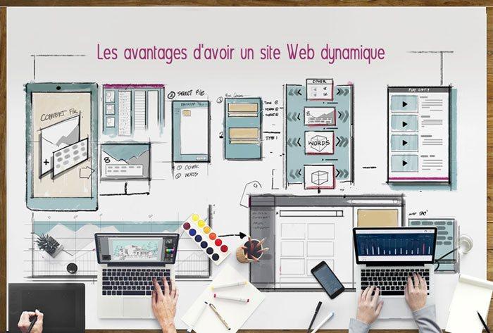 Les avantages d'avoir un site Web dynamique