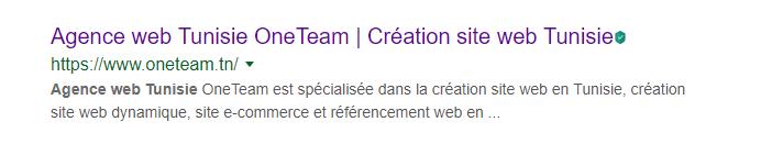 Agence Web OneTeam