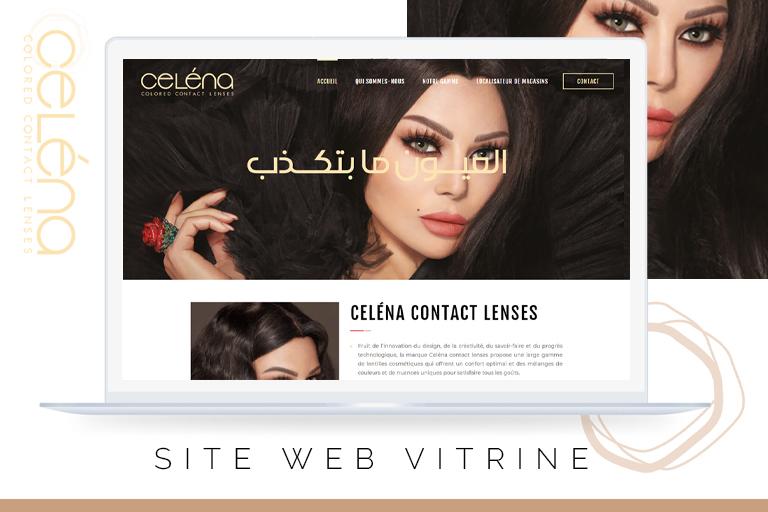 CELENA: Colored Contact Lenses